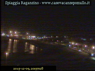 Pozzallo webcam - Raganzino Beach webcam, Sicily, Ragusa